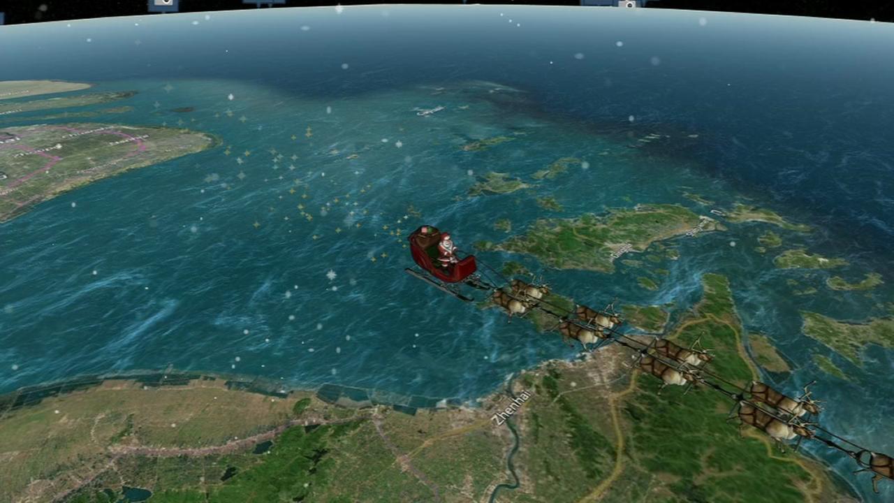 NORAD tracks Santas location