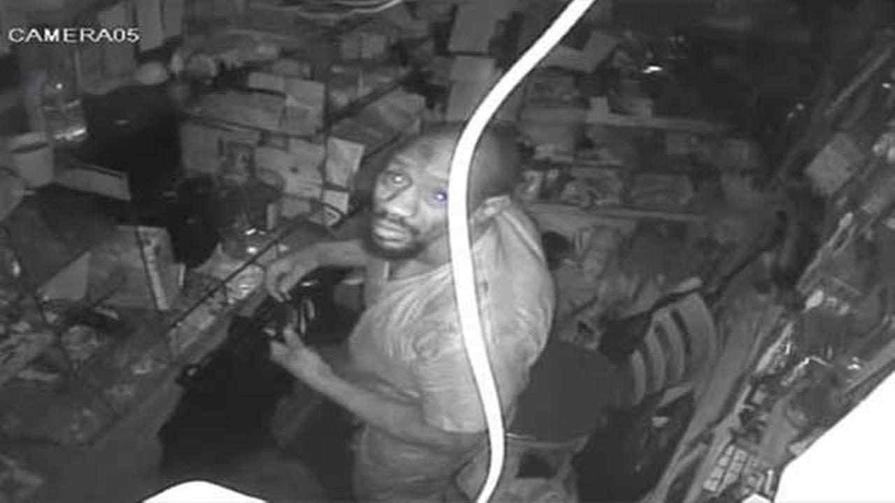 Suspect sought for burglary in North Philadelphia