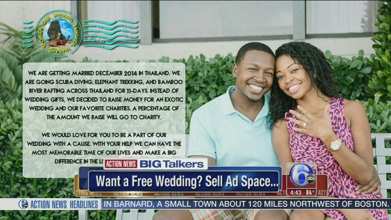 VIDEO: Would you allow ads at your wedding - for free ceremony?