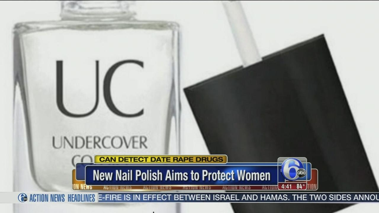 VIDEO: New nail polish could help prevent date rape
