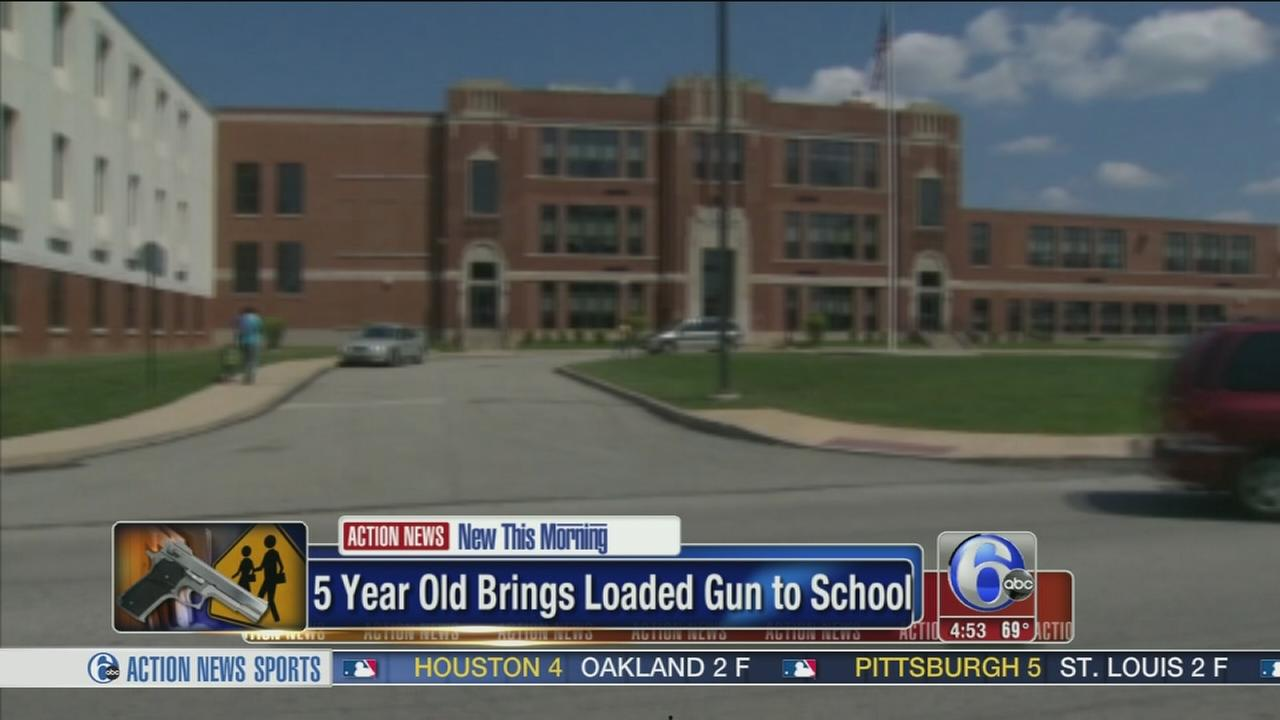 VIDEO: 5-year-old brings loaded gun to school
