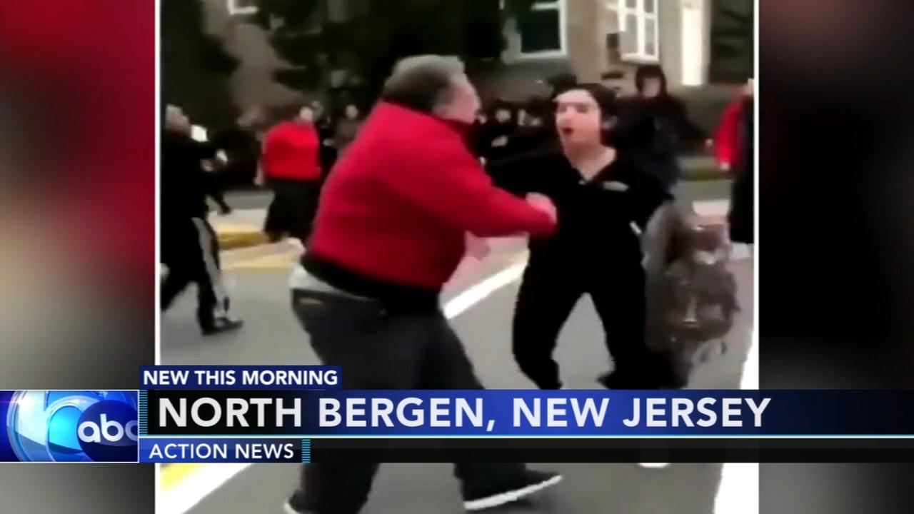 New Jersey teacher attacked while trying to break up fight