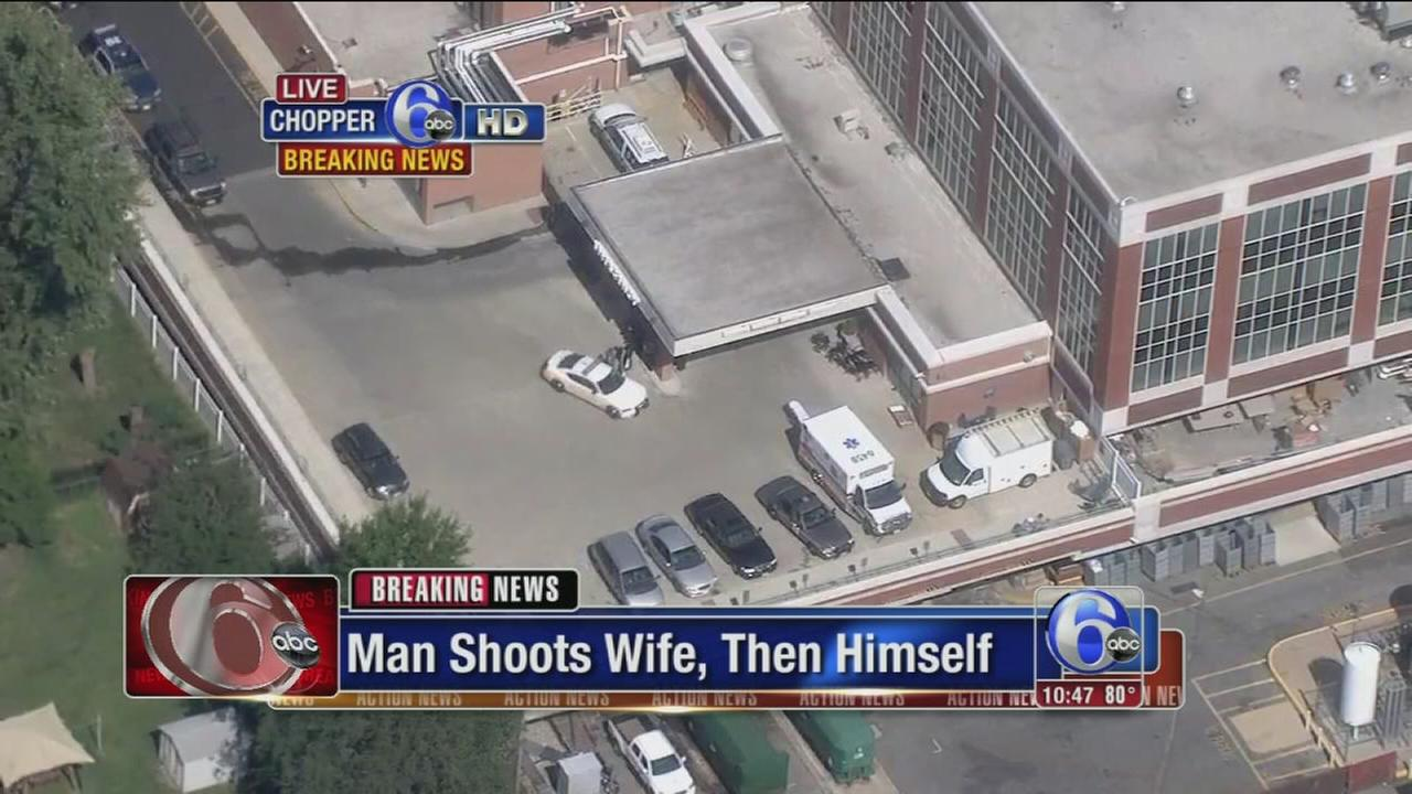 VIDEO: Shooting at Kennedy Univ. Hospital