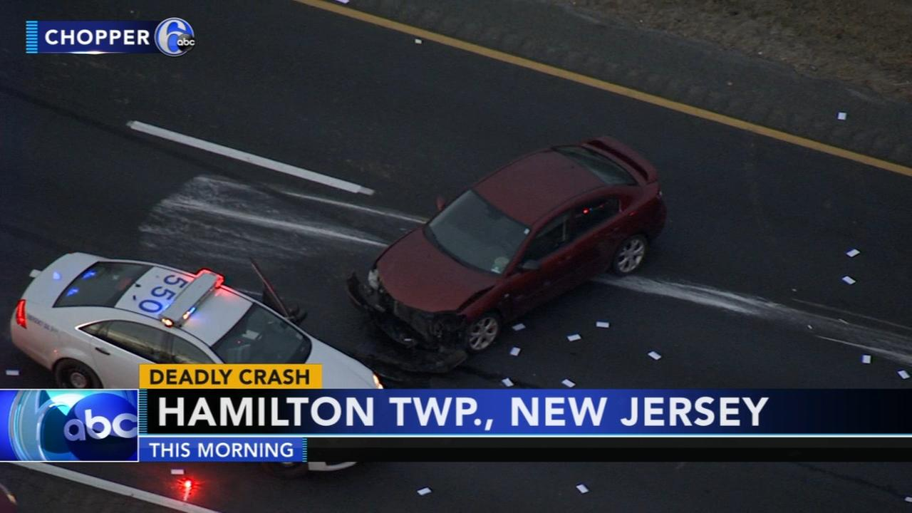 One dead after crash on I-295 in Mercer County, New Jersey