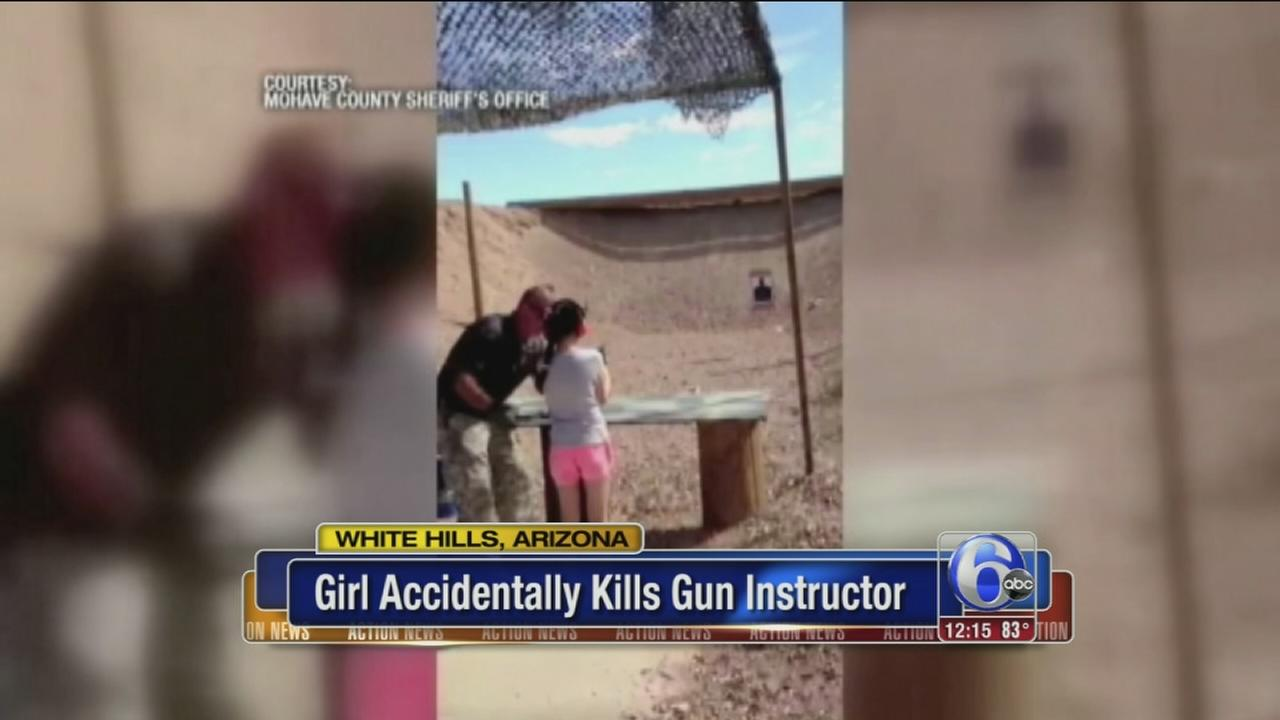 VIDEO: Girl accidentally kills instructor