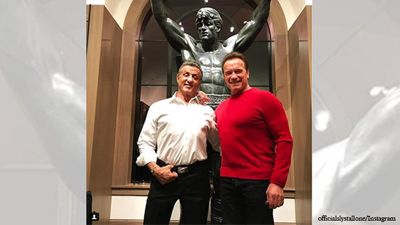 Sylvester Stallone Pays Over $400000 For Rocky III Statue