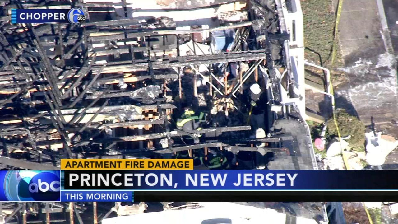 Deadly apartment fire in Princeton