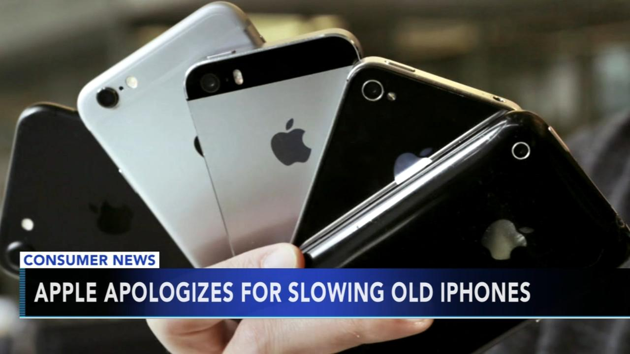 Apple apologizes for slowing old iPhones