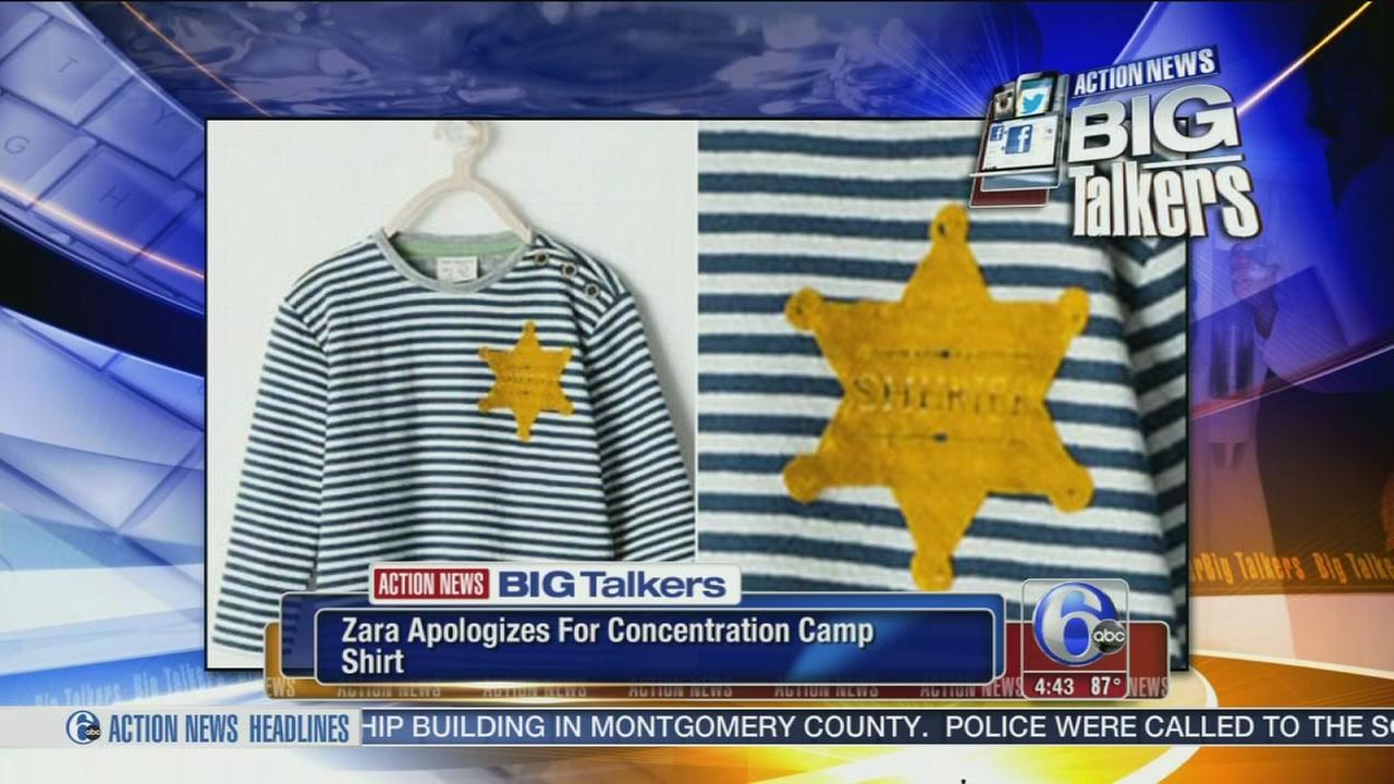 VIDEO: Stores new shirt draws Holocaust comparison