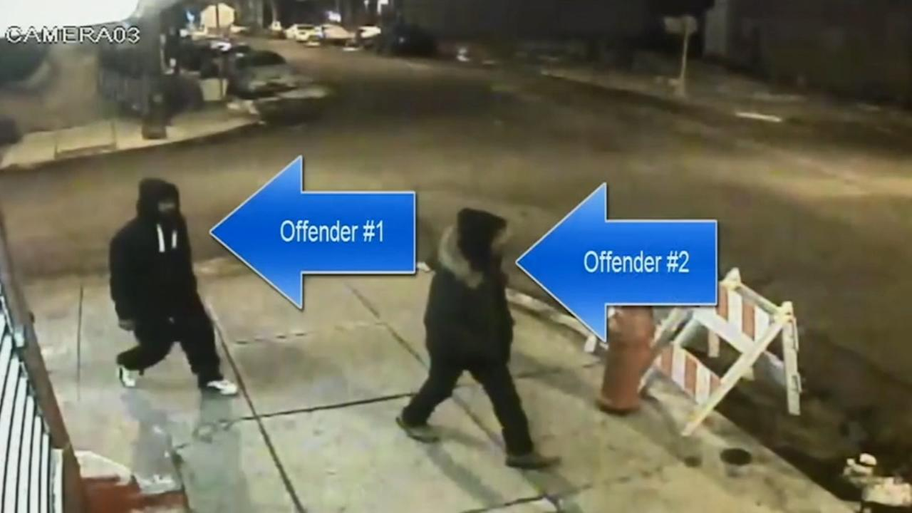 Video shows North Philly robbery suspects
