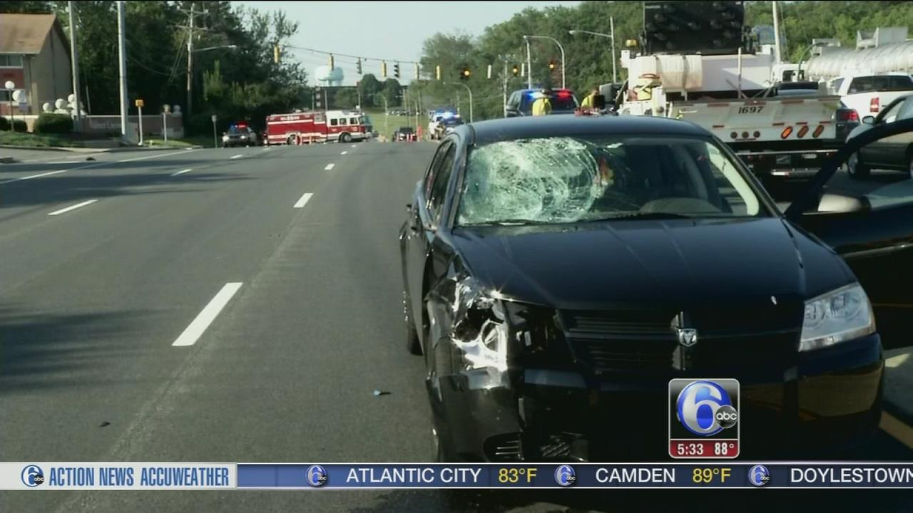 VIDEO: Woman struck, killed on Route 202
