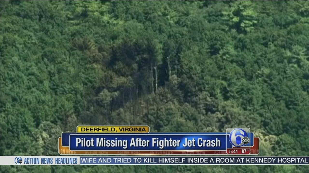 VIDEO: Pilots fate unknown in fighter jet crash