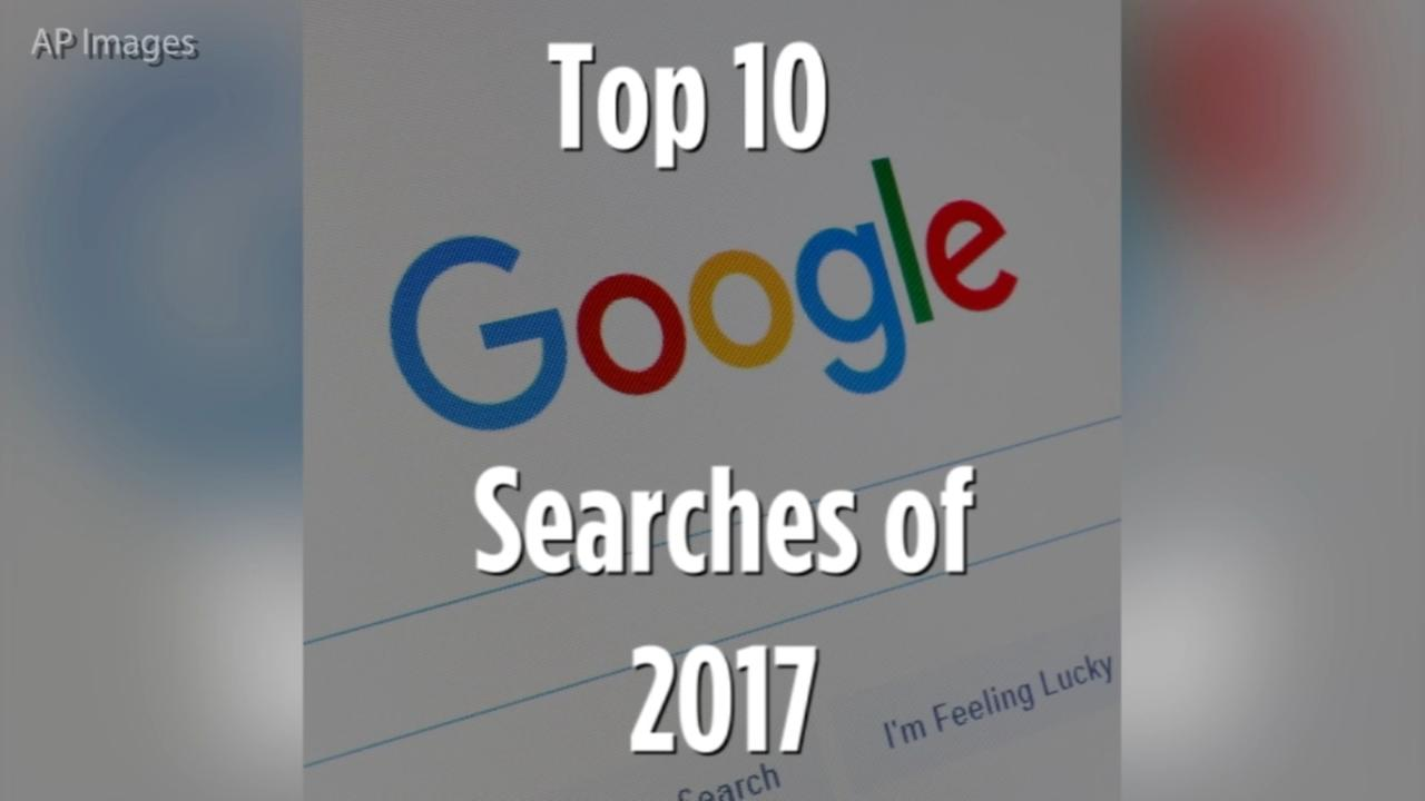 Google releases list of top trending searches in 2017