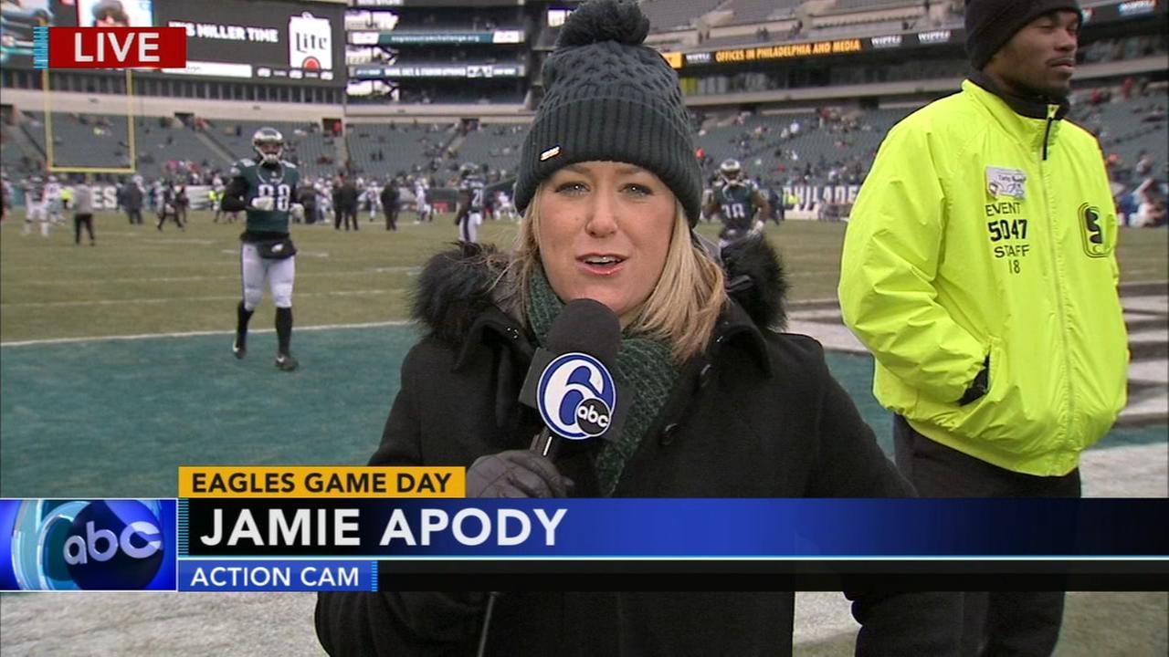 Jamie Apody previews Eagles regular season finale