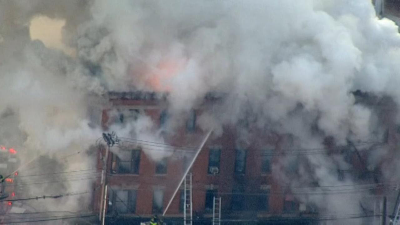 7-alarm NYC furniture store fire injures 16