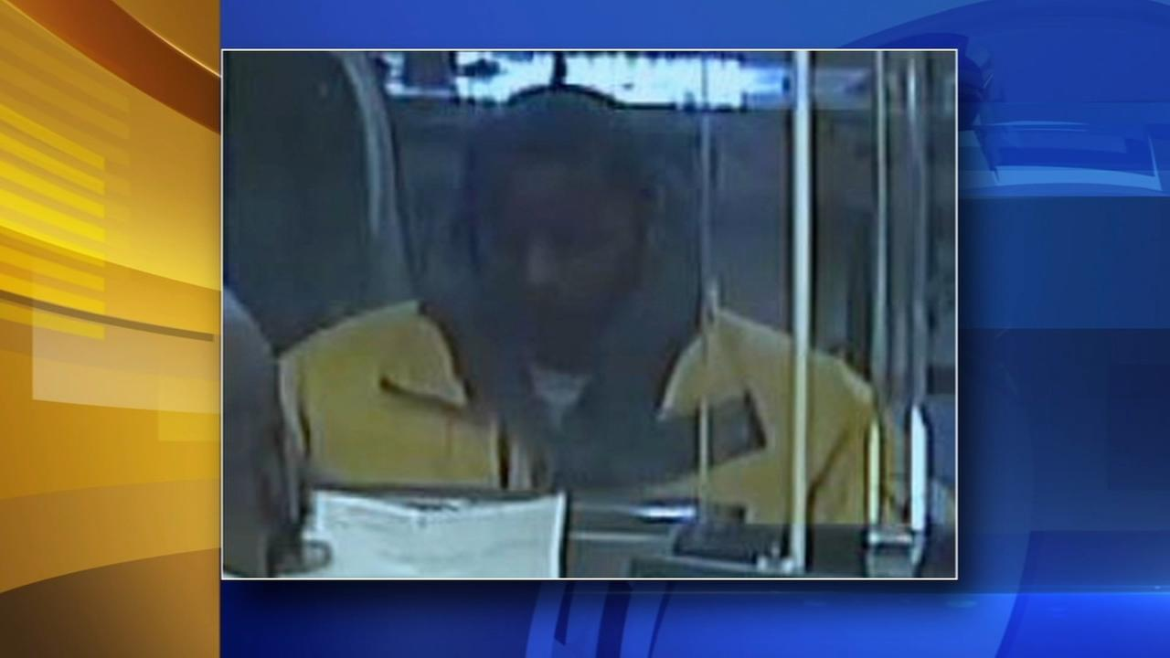Bank bandit caught on camera in Germantown