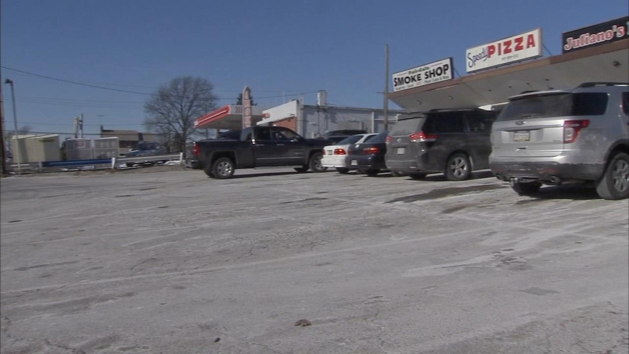 Woman found dead in van at Northeast Philadelphia strip mall