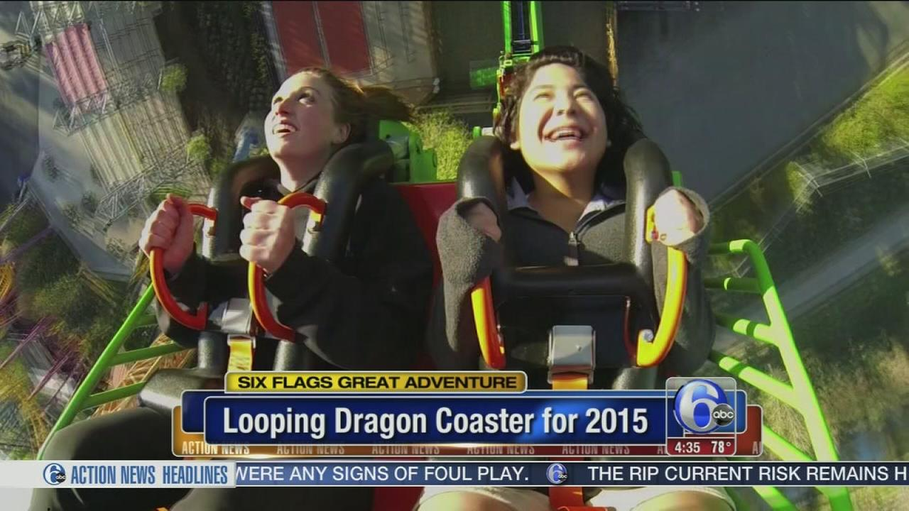VIDEO: Great Adventure unveils new thrill ride