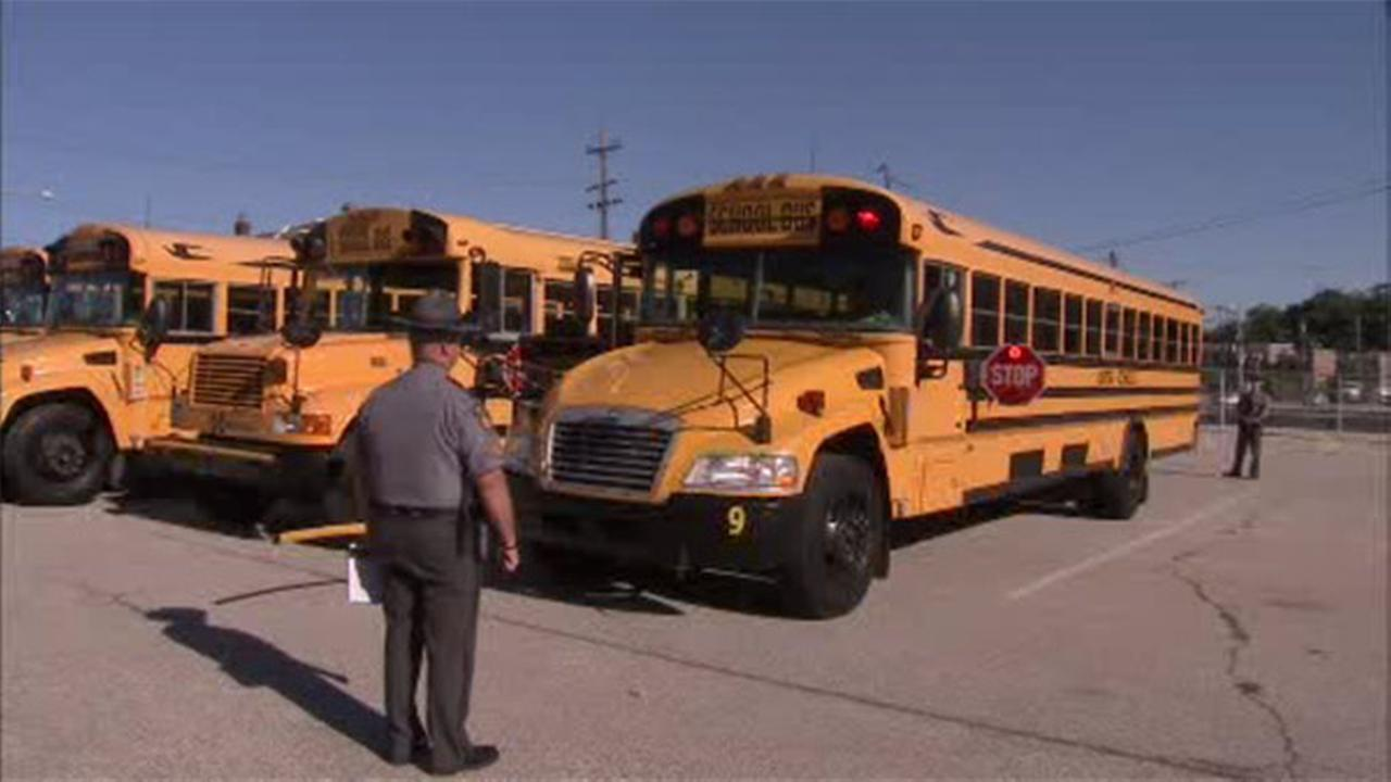 Pa. State Police: Nearly half of school buses failing inspection