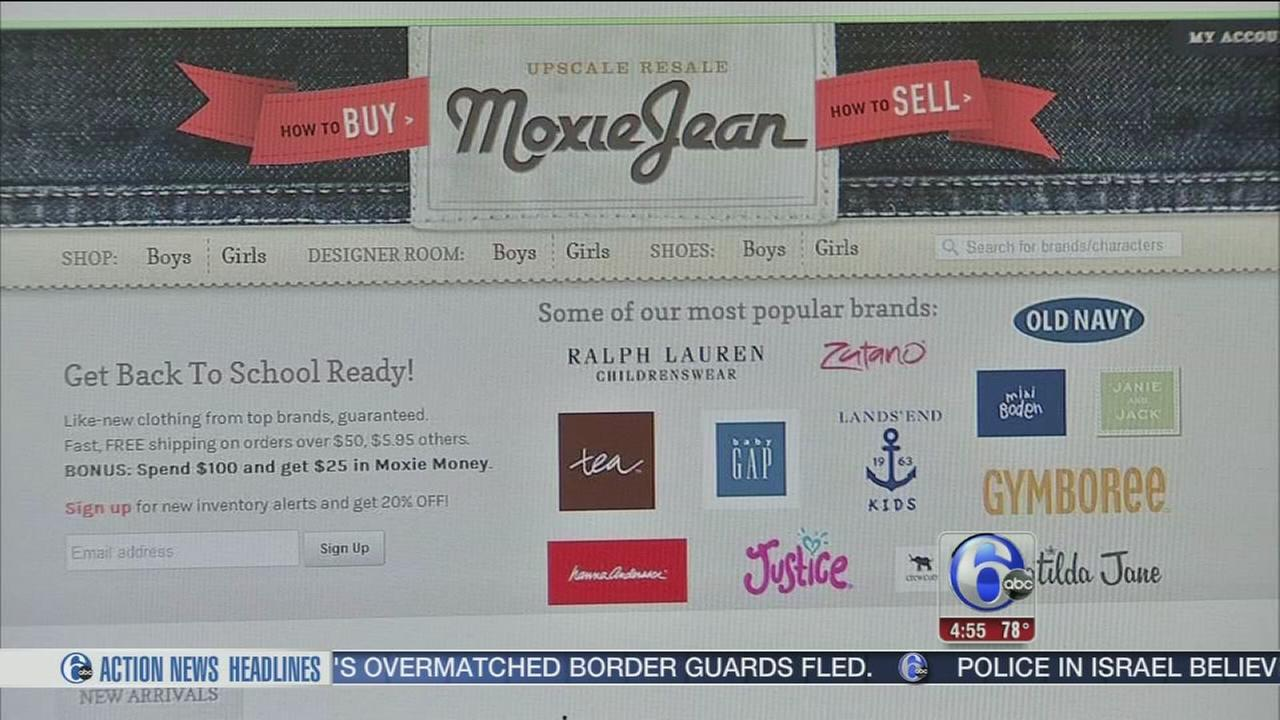 VIDEO: Saving with 6abc: Kids consignment online at Moxie Jean
