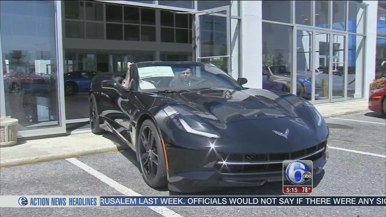 VIDEO: New Corvette comes with spy camera