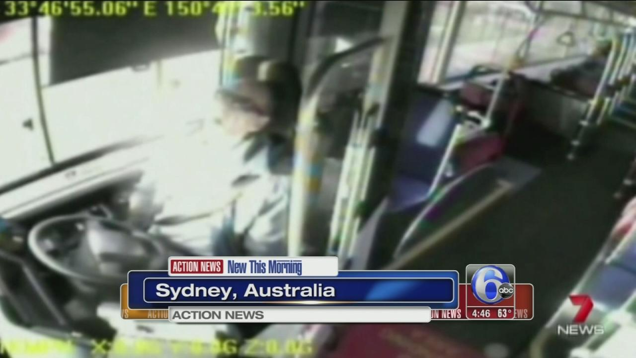 VIDEO: Bus driver caught smoking marijuana at the wheel