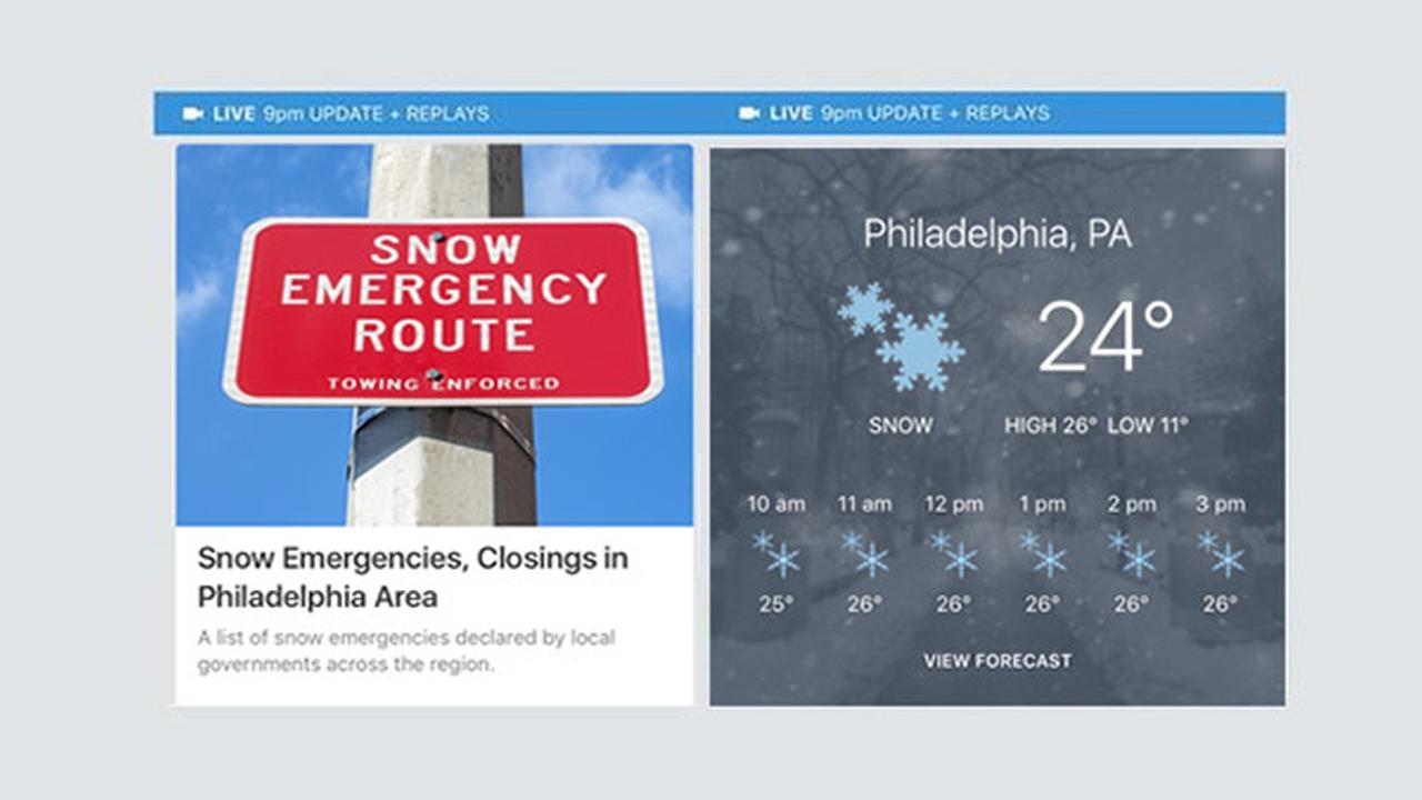 Track the storm with the upgraded 6abc app
