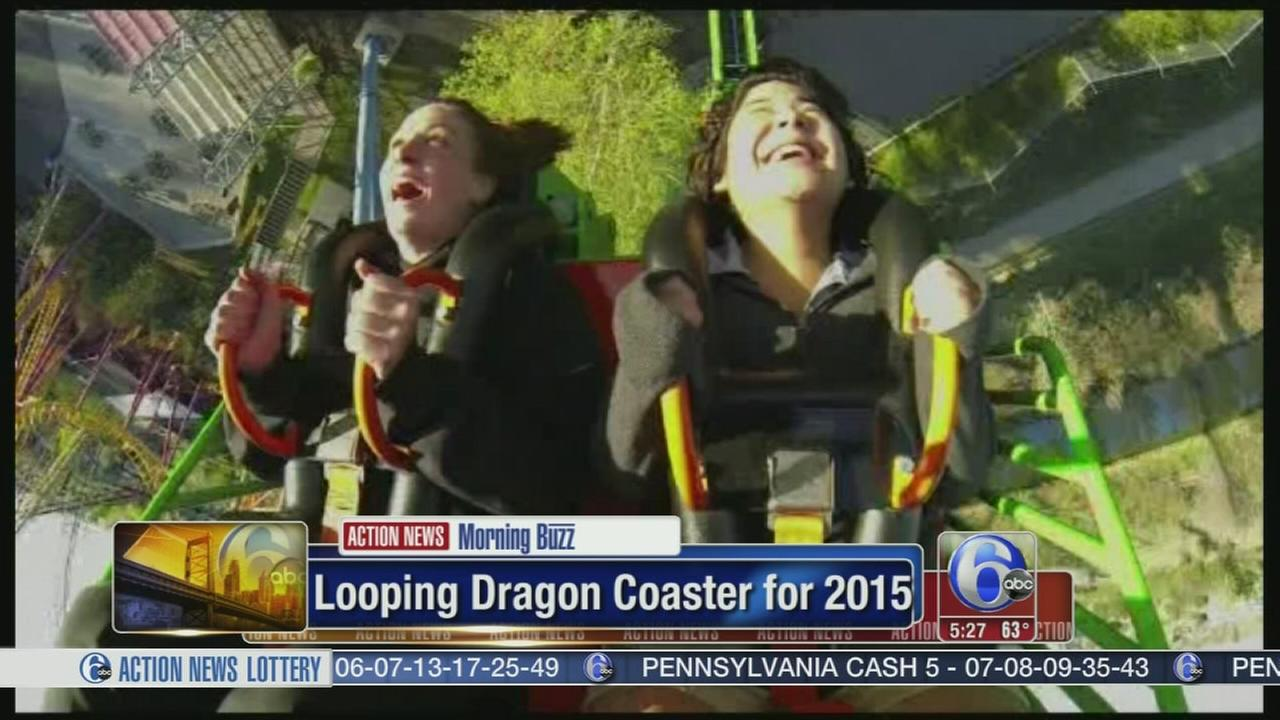 VIDEO: Check out the Looping Dragon Coaster for 2015