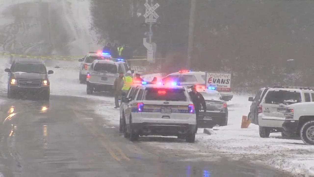 Woman on way to work killed when car strikes SEPTA train