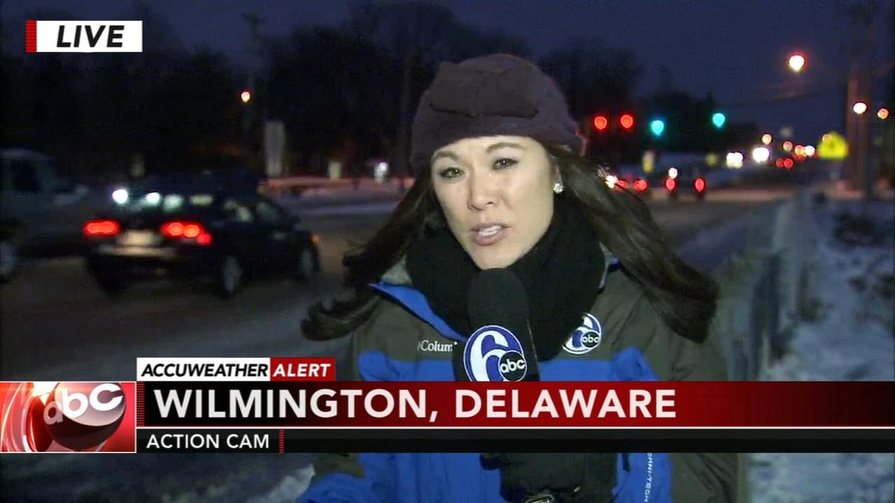 Nydia Han reports on the snowstorm from Wilmington