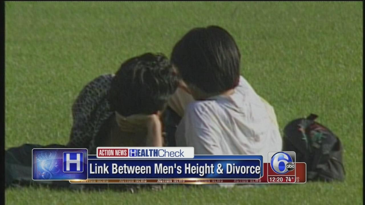 VIDEO: Short guys less likely to get divorced?