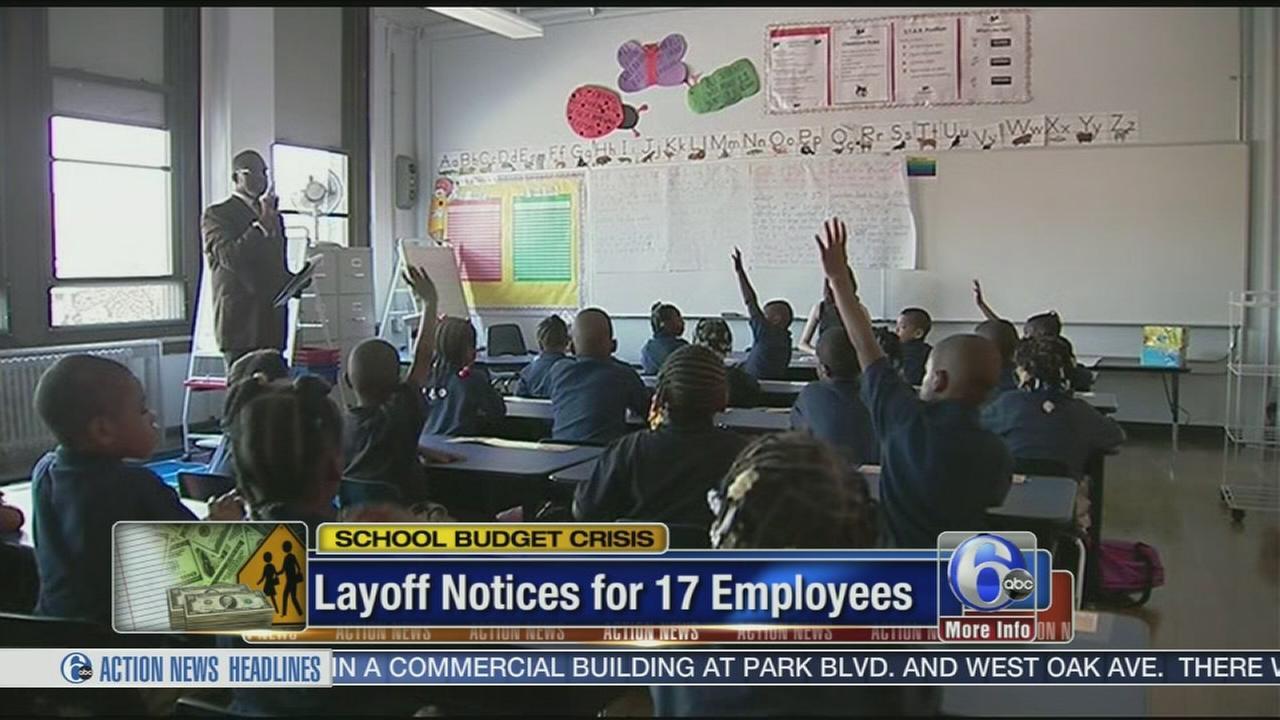 VIDEO: Philadelphia School District lays off 17 employees
