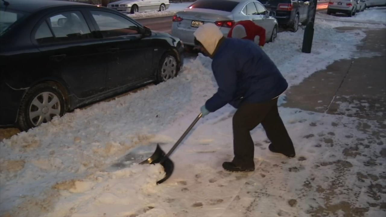 VIDEO: Group shovels sidewalks for elderly and disabled