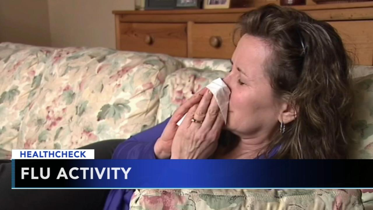 Flu activity across the Tri-state area