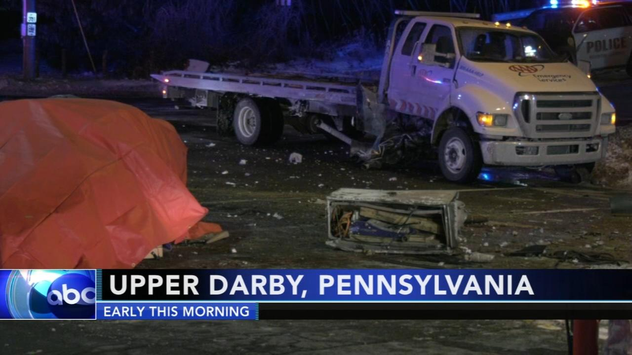 One killed, two injured in upper darby collision