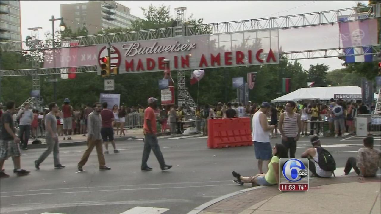 VIDEO: Made In America concert kicks off in Phila.