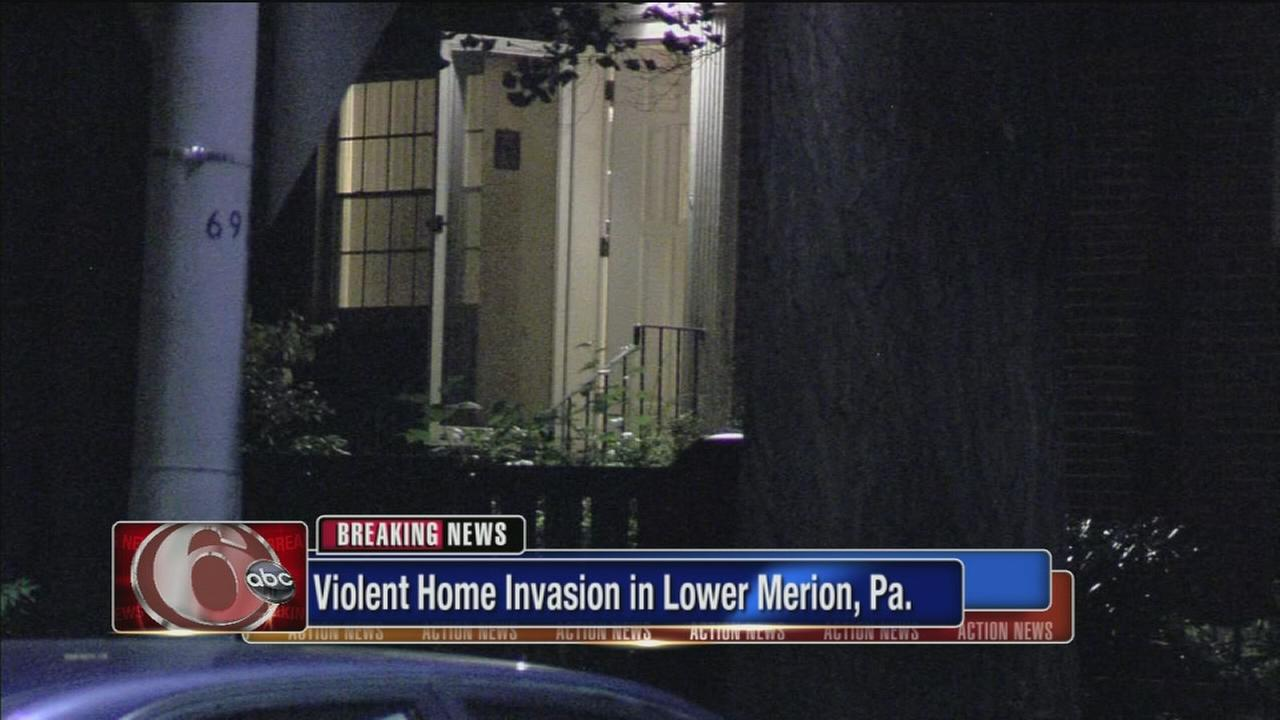 2 attacked with hammer in L. Merion home invasion