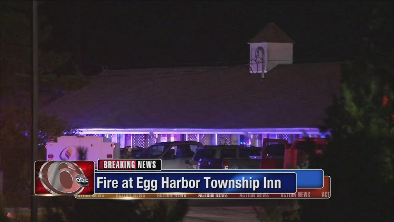 Fire erupts inside Egg Harbor Township inn