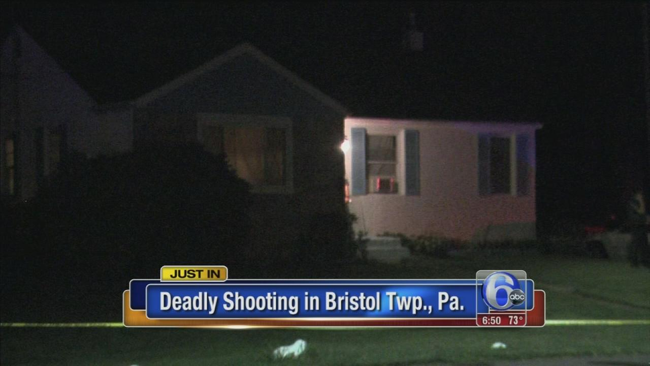 VIDEO: Police: Shooting in Bristol Twp. home leaves 1 dead