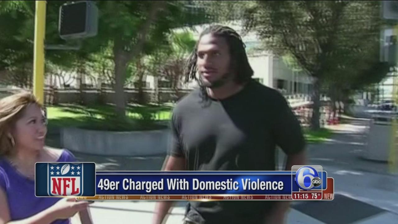 VIDEO: 49er Ray McDonald accused of domestic violence