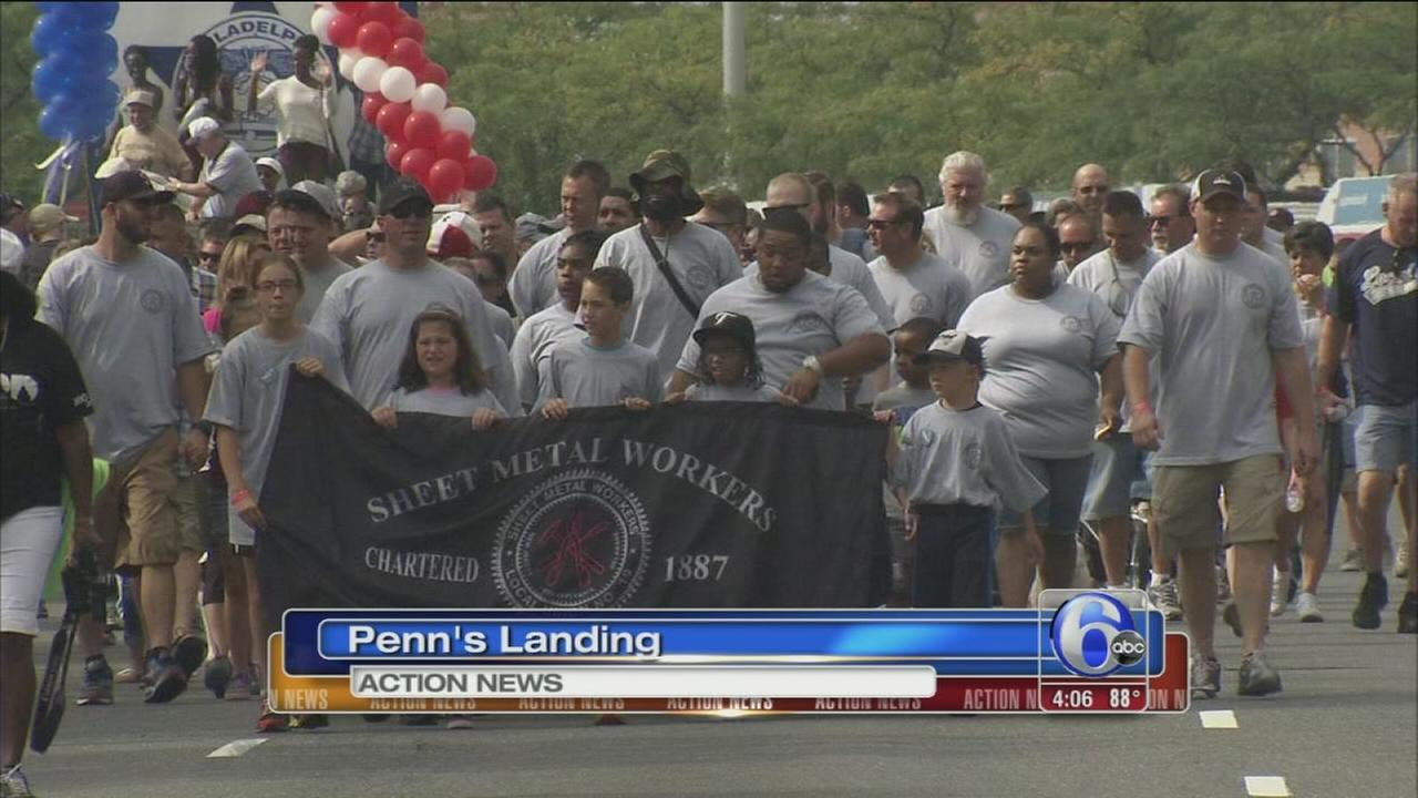 VIDEO: Labor Day parade in Philadelphia