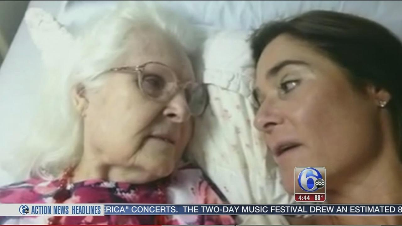 ON VIDEO: Breakthru moment for mom with Alzheimers