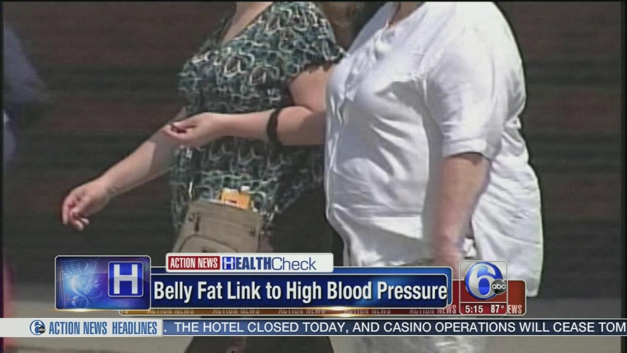 VIDEO: Link between belly fat and high blood pressure?