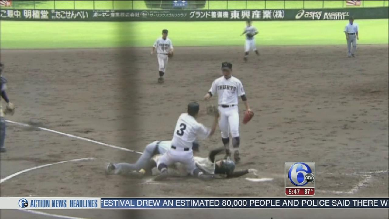 VIDEO: 2 HS teams play 50 inning baseball game