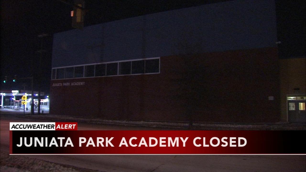 Juniata Park Academy closed Monday