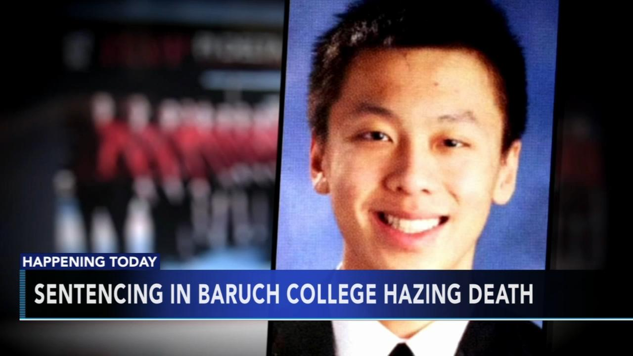 Sentencing In 2013 Frat Hazing Death Of Baruch Freshman