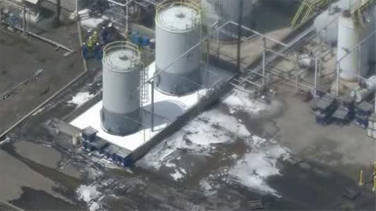 Leak at Sunoco refinery