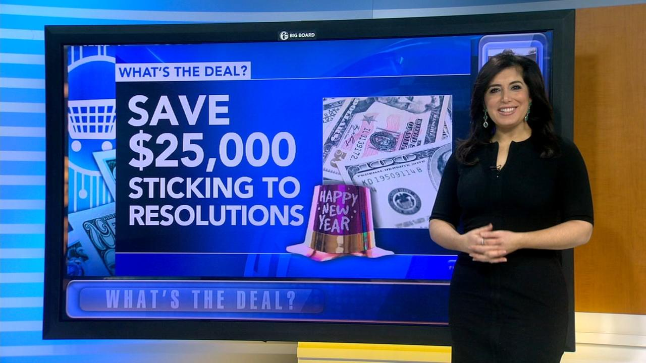 Sticking to New Years resolutions could save you thousands
