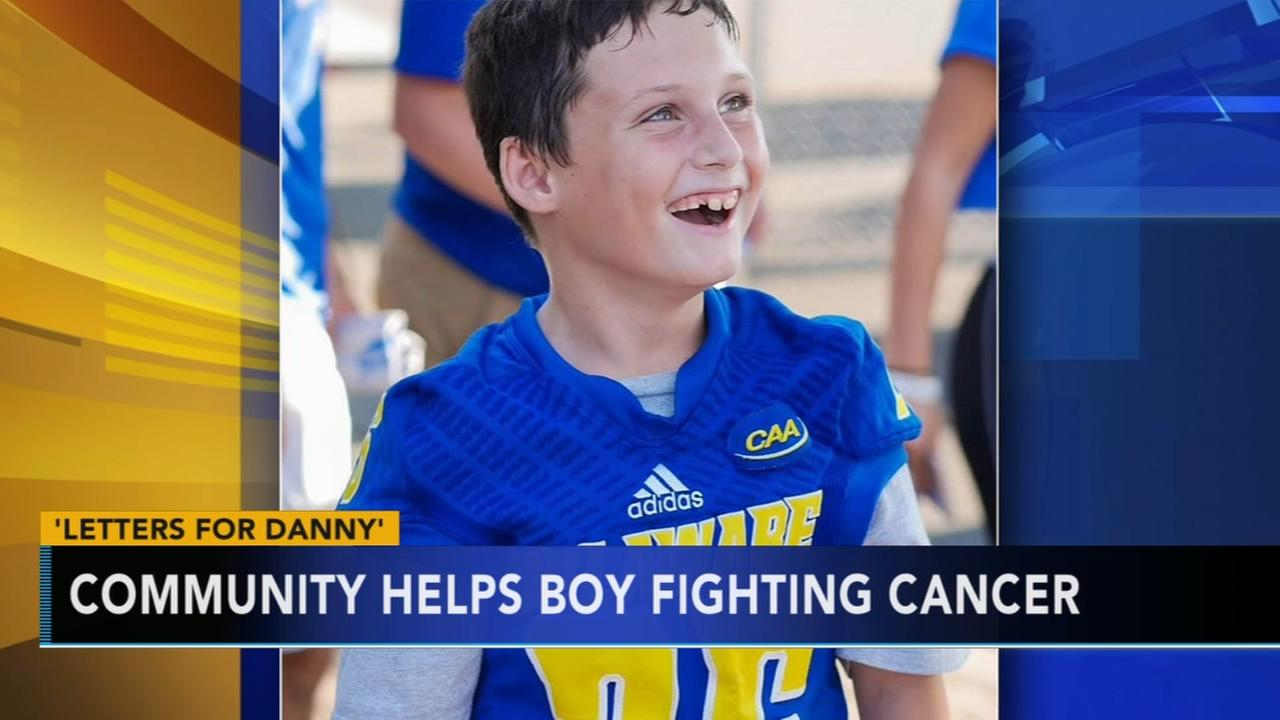 VIDEO: Officer asks for letters for boy battling cancer