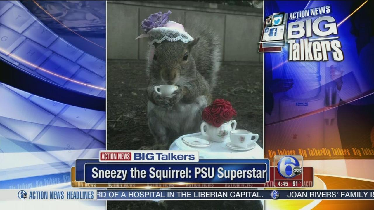 VIDEO: Penn State student chronicles Sneezy the Squirrel